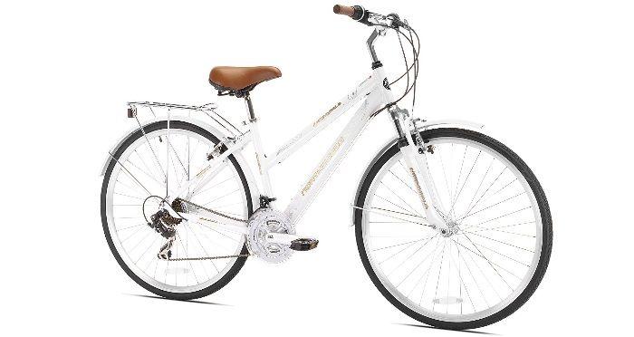 Northwoods Ladies Crosstown 21 Speed Hybrid Bicycle