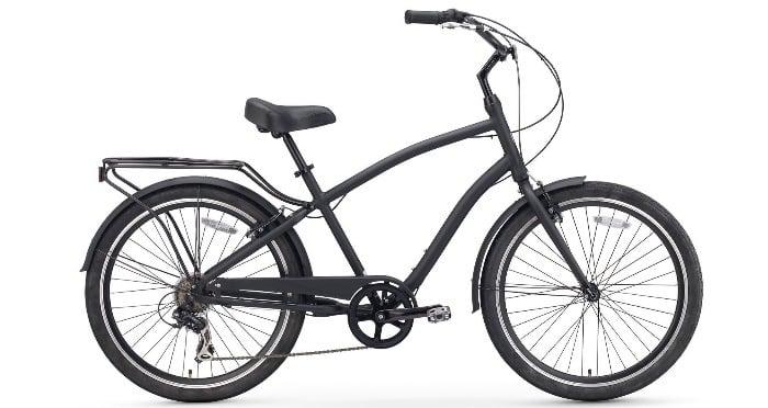Sixthreezero EVRYjourney Men's 26-Inch 7-Speed Hybrid Cruiser Bicycle
